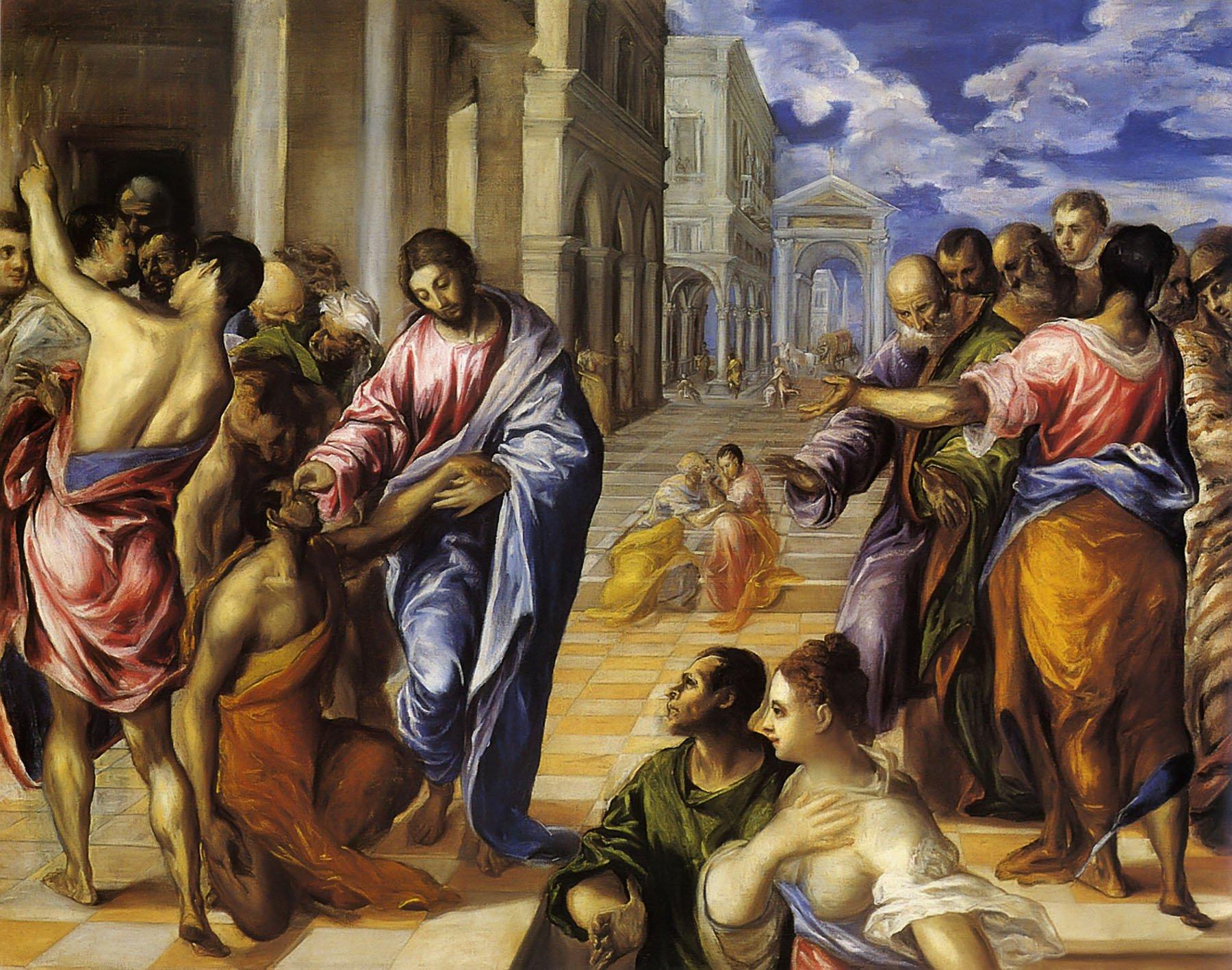 Jesus-heals-the-blind-man-El-Greco